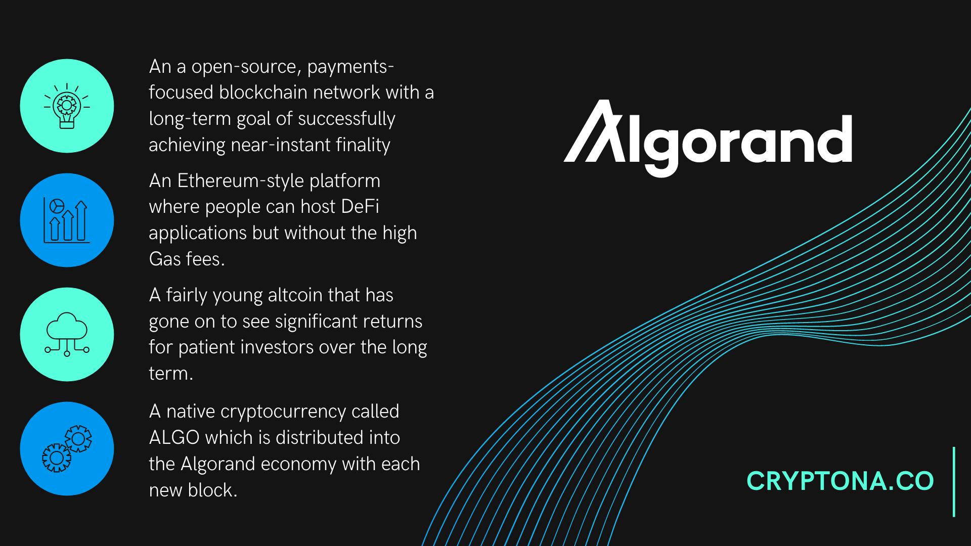 Algorand Price Prediction Forecast 2021-2025