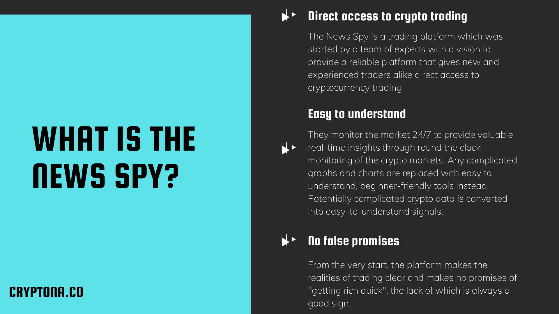 Can The News Spy Find Crypto Opportunities or is it a Hustle?